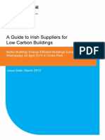 Irish Suppliers for Low Carbon Buildings 2013 Enterprise Ireland