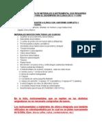 Lista de Materiales IV y v 2014