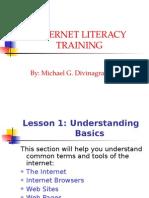 Lesson 1 INTERNET Basics
