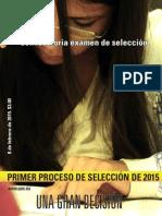 Convocatoria UAM 2015