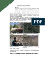 Estudio de Suelo y Agua Cantera Pachachaca