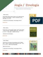 Manuales de Antropologia