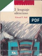 Hall_El Lenguaje Silencioso