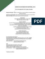 IX Congreso Historia 2015 Primera Circular
