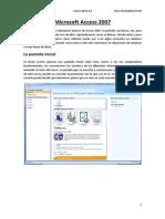MANUAL Microsoft Access 2007 - Tablas