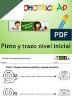 Cuaderno de Aprestamiento Grafomotricidad Nivel Inicial