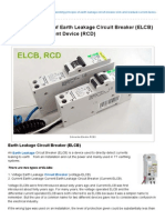 Working Principle of Earth Leakage Circuit Breaker (ELCB), RCD.pdf