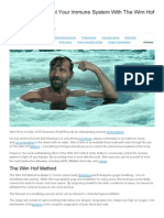 Consciously Control Your Immune System With the Wim Hof Method _ Earth. We Are One