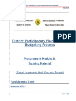 Documents-Training Modules-General-Procurement Training Manual. Module B. Participant Book (RB). 18.11.09 (1)
