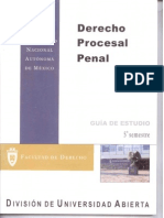 Derecho Procesal Penal 5 Semestre