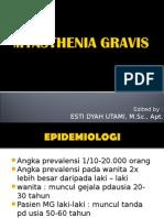 KUL VII - Myasthenia Gravis.ppt