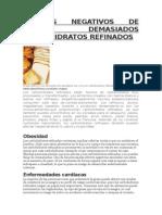EFECTOS NEGATIVOS DE COMER DEMASIADOS CARBOHIDRATOS REFINADOS.docx