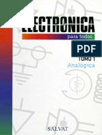 Electronica Para Todos - Tomo 1 - Analogica