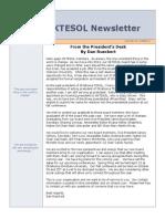 OKTESOL Spring Newsletter 2014