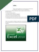 Excel 2010 Resumen