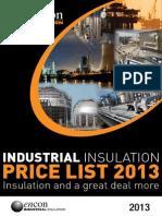 Encon Industrial Price List 2013