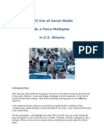 Social Media as an ISIS Force Multiplier SPECOP
