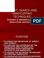 Arrest and Searches