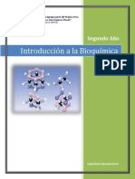Folleto 1 Bioquimica Introduccion a La Bioquimica