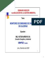 Monitoreo de Emisiones de Chimenea