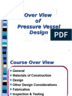 ASME Pressure Vessel Overview for Project Engineering