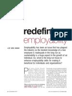 Redefining Employability