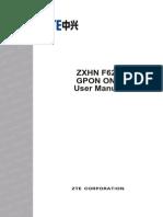 ZXHN+F620+PON+ONT+User+Manual