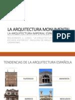 La Arquitectura Monumental