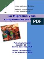 Migracion. Sus efectos  psicosociales