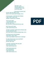 Yellow Ledbetter (Alternative Lyrics)
