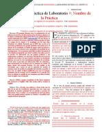 Formato IEEE Para Articulos