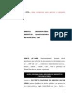 8.1- Pet. inicial - Revisão - Diferença de 9% do benefício de auxílio-doença para a aposentadoria por invalidez.doc