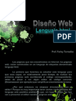 Diseño Web (Lenguaje HTML)