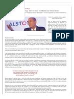 Lettre Ouverte à Emmanuel Macron Et à Tous Ceux Qui Pensent Qu'Il Est Temps de Tirer Les Leçons de l'Affaire Alstom General Electric - Nouvel Economiste -2 Février 2015
