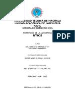 Portafolio de NTICS