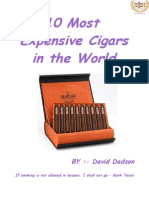 10 Most Expensive Cigars in the World