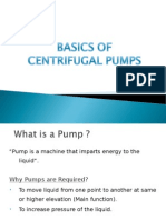 Basics of Centrifugal Pumps