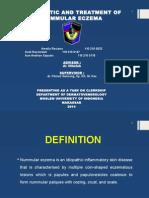 Presentation Dermatitis Numular