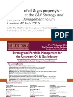 Evaluation of Oil & Gas Assets