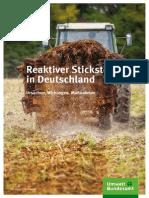 Reaktiver Stickstoff in Deutschland