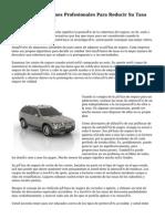 El Uso De Afiliaciones Profesionales Para Reducir Su Tasa De Seguro De Auto