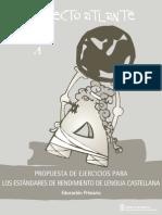 Propuesta de Ejercicios Para Primaria