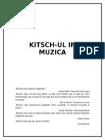 Kitsch-ul in Muzica