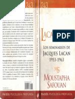 Moustapha Safouan - Lacaniana I - Los Seminarios de Jacques Lacan 1953-1963 - Ed. Paidós