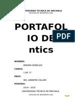 PORTAFOLIO-NTICS BRAYAN