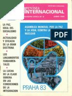 Revista Internacional - Nuestra Época - Edición Chilena - Junio de 1983