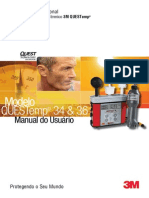 Manual usu�rio 3M Quest temp 34 36