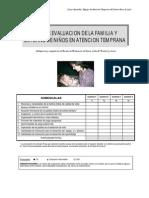 Guía de Evaluación de La Familia y El Entorno en Atención Temprana