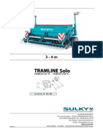 Sulky- Tramline SE 2014