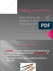 presentation about Drilling Machine